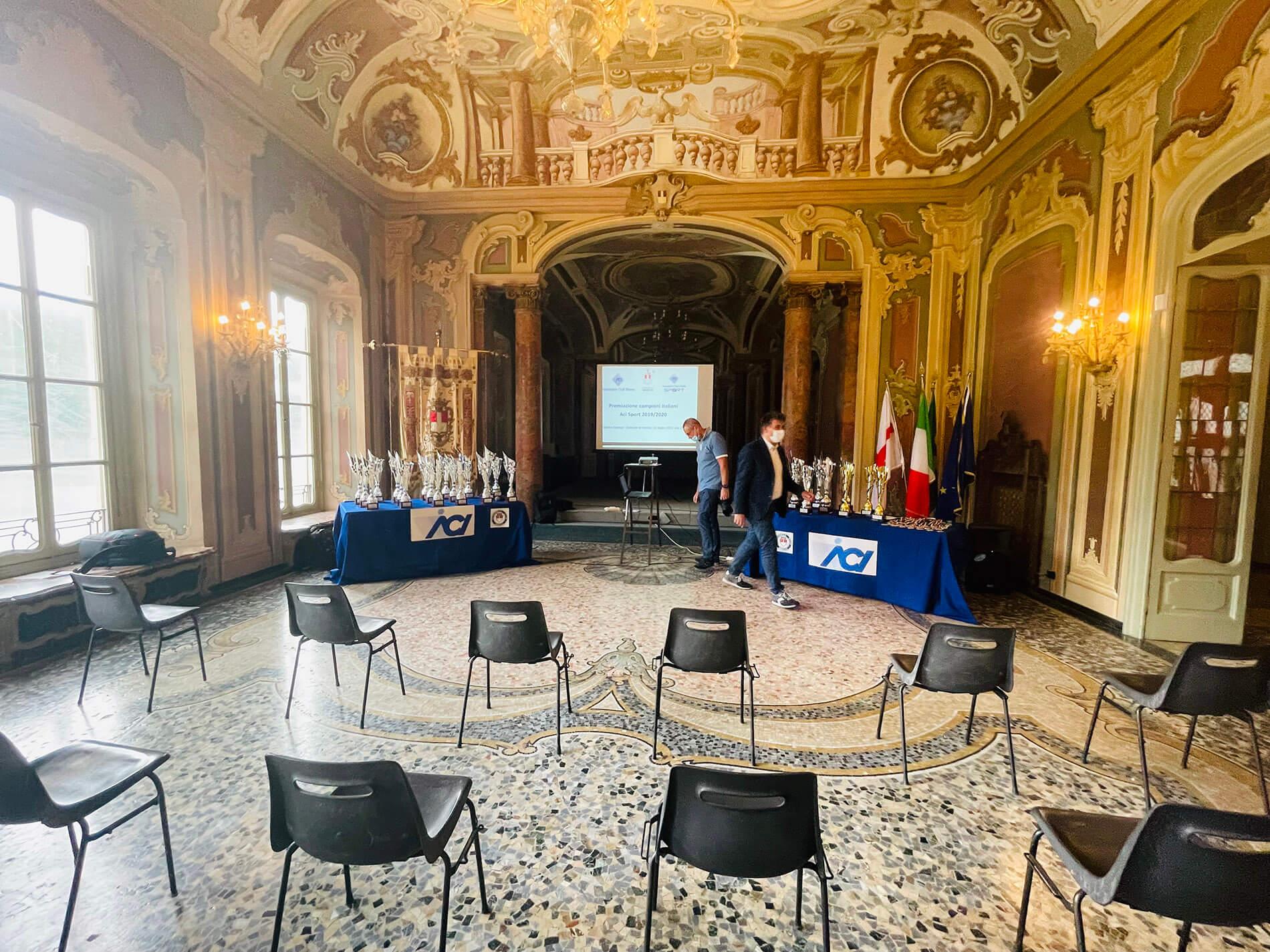 Rubens Visconti e Davide Rigoletto premiati Campioni Italiani